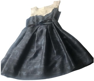 Orla Kiely Navy Silk Dress for Women