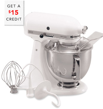 KitchenAid Artisan Series 5Qt Tilt-Head Stand Mixer-Ksm150pswh With $29 Credit