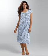 Eileen West Floral Waltz Knit Night Gown