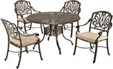 JCPenney Home Styles Floral Blossom 5-pc. Cast Aluminum Outdoor Dining Set