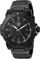 Luminox Men's 'Modern Mariner' Swiss Quartz and Stainless-Steel-Plated Automatic Watch, Color: (Model: 6252.BO)