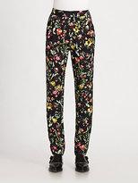 3.1 Phillip Lim Botanical-Print Silk Pants