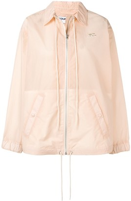 Courreges Drawstring Detail Jacket