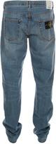 Stone Island Mid Wash Regular Tapered Fit Denim Jeans