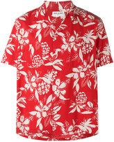 Saint Laurent Hibiscus floral print shirt - men - Cotton/Viscose - 39