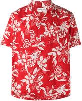Saint Laurent Hibiscus floral print shirt