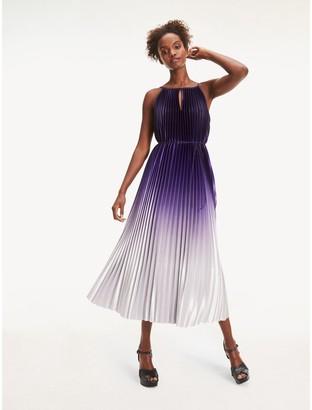 Tommy Hilfiger Pleated Sleeveless Dress