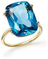 Bloomingdale's London Blue Topaz Statement Ring in 14K Yellow Gold