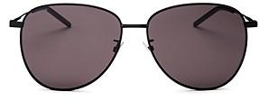 Saint Laurent Women's Aviator Sunglasses, 60mm