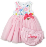 Juicy Couture Infant Girls) Two-Piece Floral Tulle Dress & Bloomers Set