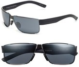 Porsche Design 'P8509' 64mm Aviator Sunglasses