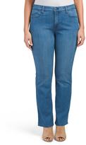 Plus Made In Usa Billie Mini Bootcut Jeans