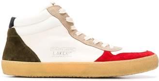 Philippe Model Lakers hi-top sneakers