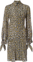 Derek Lam floral print shirt dress - women - Silk - 36