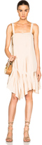 Tibi Pleated Strappy Dress