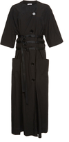 Tomas Maier Airy Poplin Cotton Maxi Dress
