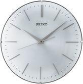 Seiko Wall Clock With Aluminum Dial Silver ToneQxa630alh