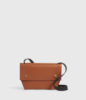 AllSaints Corbet Leather Crossbody Bumbag