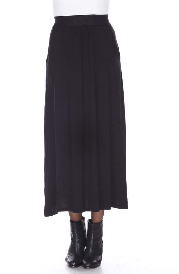 b4421f82d1793e Long Skirt With Pockets - ShopStyle