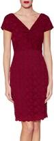 Thumbnail for your product : Gina Bacconi Conchita Lace Dress, Wine