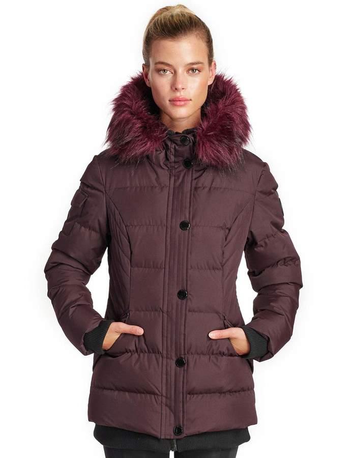 9564fe65f Women's Aspen Storm Parka Winter Insulated Faux Fur Hood Jacket