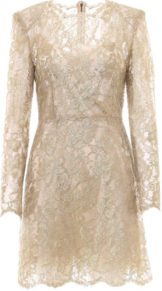 Dolce & Gabbana Laced All-over Short Dress