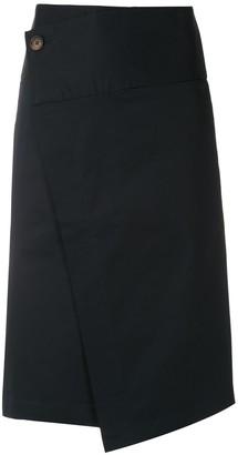 Egrey Dijon A-line skirt