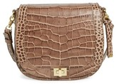 Brahmin Sonny Savannah Southcoast Embossed Crossbody Bag - Beige