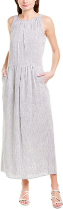 Max Mara Linen & Silk-Blend Maxi Dress