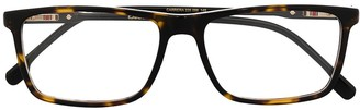 Carrera Tortoiseshell Square-Frame Glasses