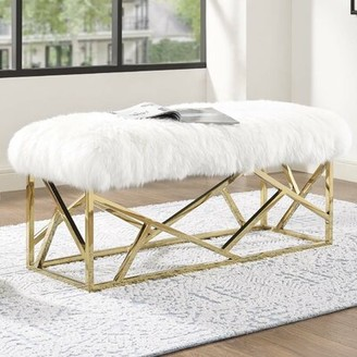 Everly Quinn Deborah Upholstered Bench