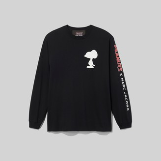 Marc Jacobs Peanuts x The Long-Sleeve T-Shirt With Snoopy