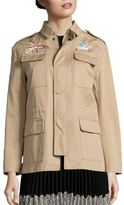 RED Valentino Patch Cotton Cargo Jacket