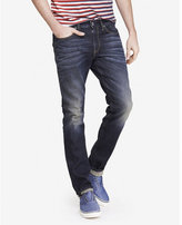Express skinny leg skinny fit flex stretch jean