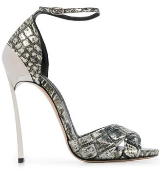 Casadei Techno Blade heel sandals
