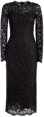 Dolce & Gabbana Lace Midi Dress