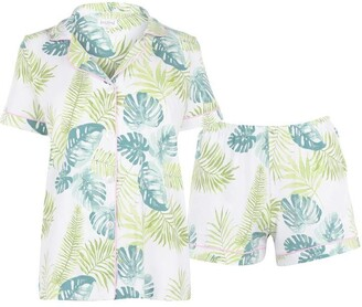 BedHead Island Palm Cotton PJ Set