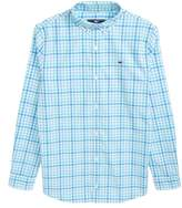 Vineyard Vines Guana Cay Gingham Check Woven Shirt