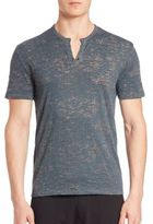 John Varvatos Distressed Slim-Fit Tee