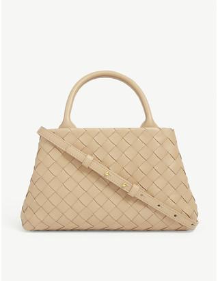 Bottega Veneta Small leather Intrecciato shoulder bag