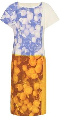 Dries Van Noten Printed cotton and linen dress