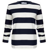 Solid & Striped The Long Sleeve Island Knit Bold Stripe Top