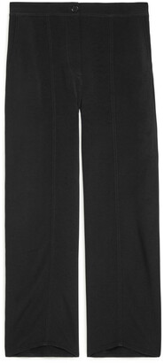 Arket Fluid Wide-Leg Trousers