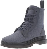 Dr. Martens Men's Combs Washed Canvas Combat Boot