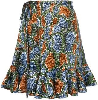 Chloé Graphic Print Skirt