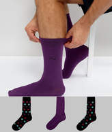 Pringle Socks In 3 Pack With Spot