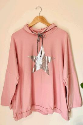 Belle Modelle Belle-Modelle - Long Sleeve T Shirt Star Hoody Pink