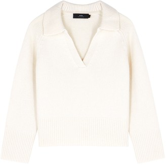 Arch4 Clifton Ivory Cashmere Jumper