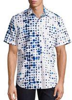 Robert Graham Biosphere Button-Down Shirt