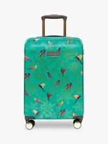 Thumbnail for your product : Sara Miller Green Birds 54cm 4-Wheel Cabin Case, Green